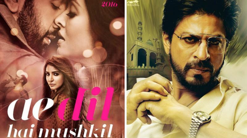 MNS 'direct threat' would stop release of Ae Dil Hai Mushkil & Raees