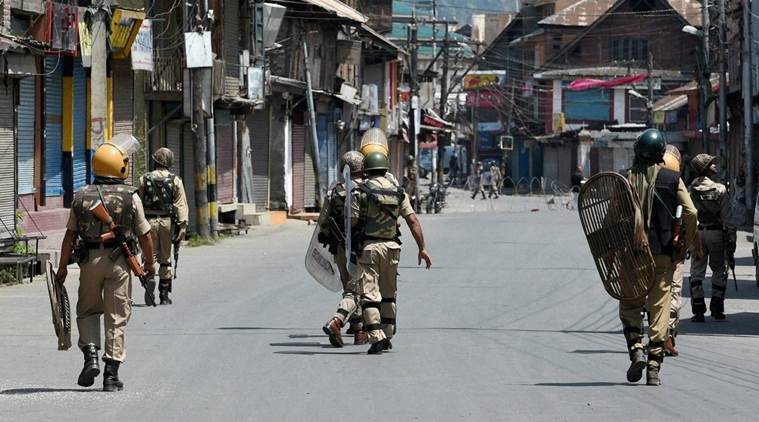 Tension in Kashmir