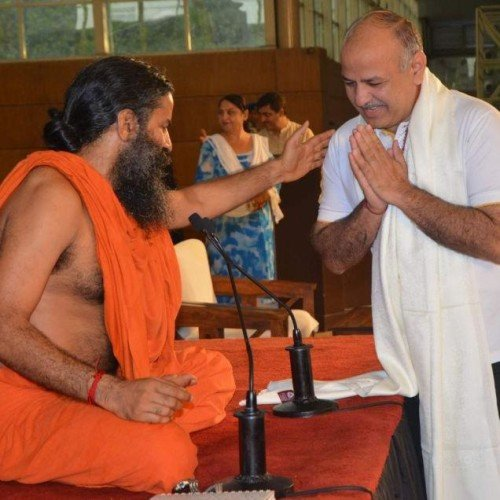 Yoga Guru Baba Ramdev's special training for Delhi teachers!