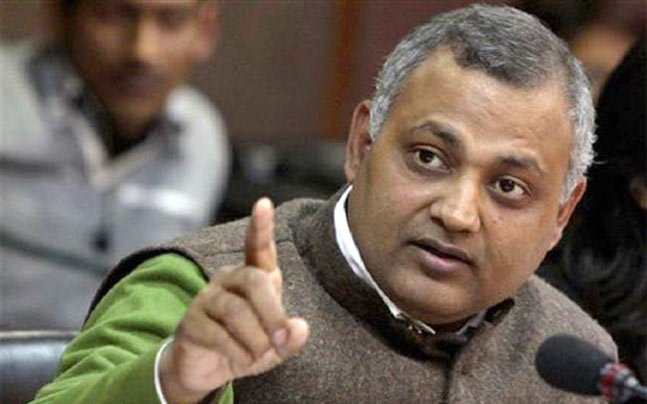 Controversial: Somnath Bharti arrested, trouble continues for AAP