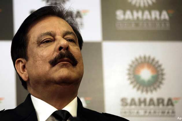 Subrata Roy back to Tihar by Supreme Court