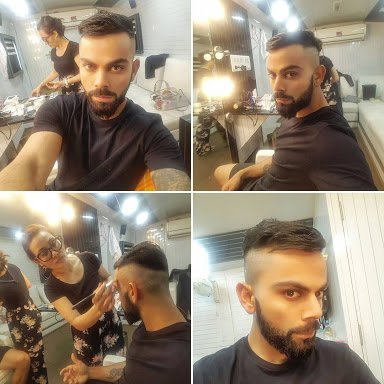 Check Out Virat Kohli S New Hairstyle One World News