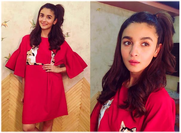 Fashion Alert! Our Bubbly Alia is back