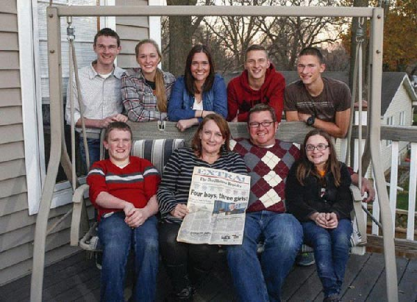 Meet the first Surviving Septuplets