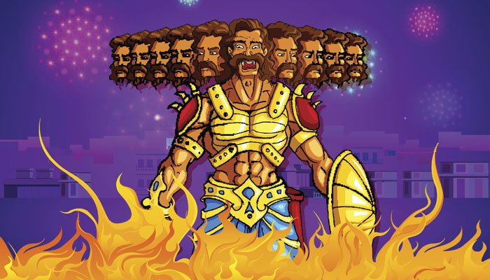This Dussehra, Burn the Ravana Inside You!