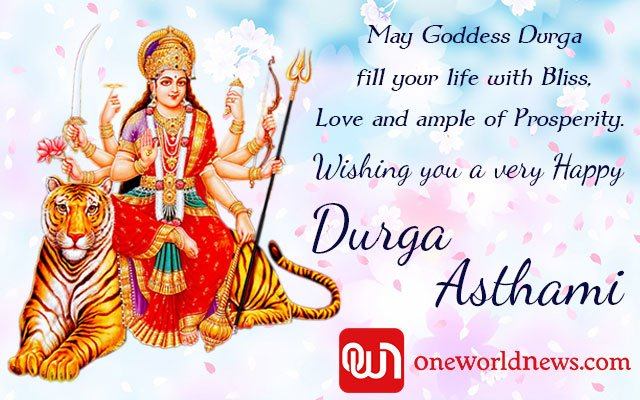 Happy Durgra Ashtami