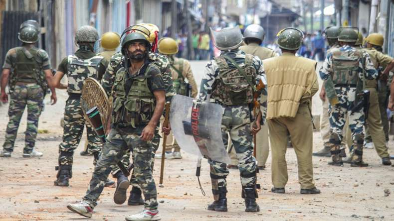 Search operation in Kashmir's Baramulla