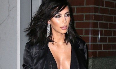 Kim refused to blame her bodyguard for the robbery incident