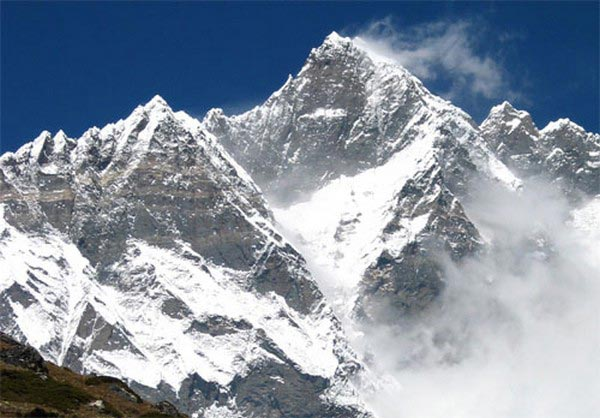 Top 5 highest peaks