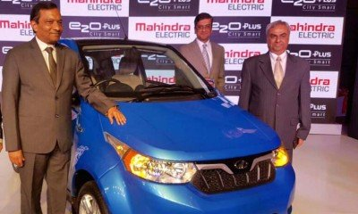 Electric car launched by an Indian car maker