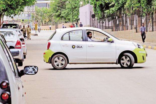 Now Ola is just a message away!
