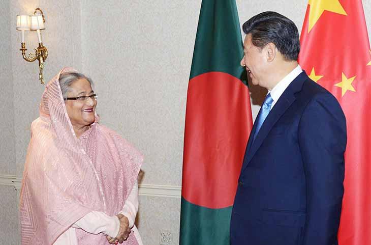 China and Bangladesh plans to upgrade their bilateral ties