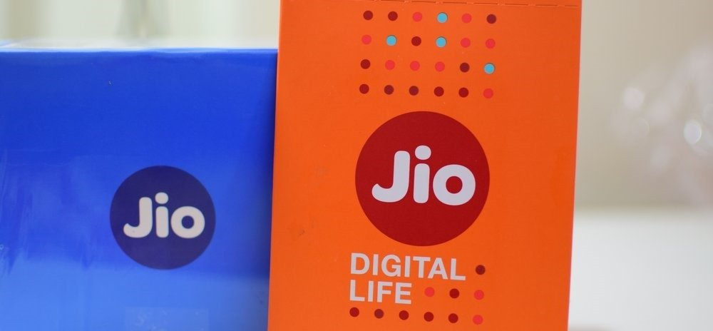 Voice calls on Jio network is not among the tariff plans