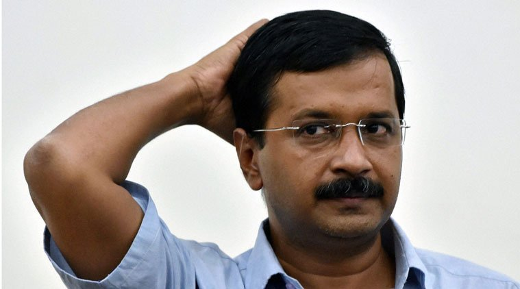 Ink Attack on Arvind Kejriwal, he wishes luck to all ink attackers