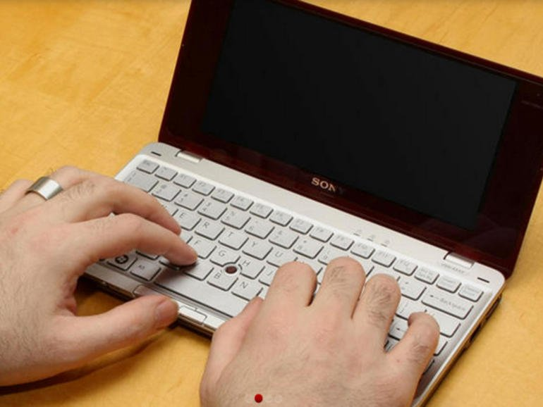 World's smallest Laptop: Sony VAIO P