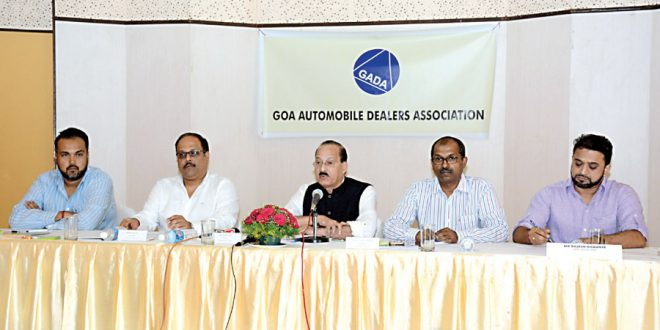 Automobile dealers in Goa calls for tax cut