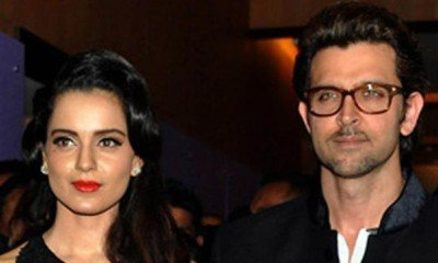 Shocking !Hrithik says 'No Comments' on Kangana's '43-year-old son' remark