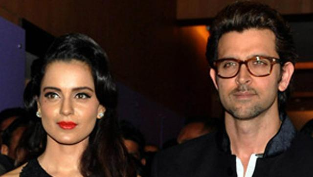 Hrithik says No Comments on Kangana's  43-year-old son remark