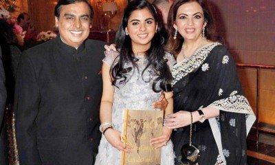 Wedding Bells for Mukesh Ambani's daughter