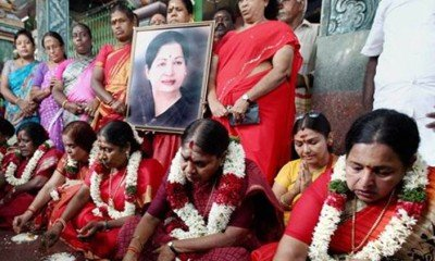 Continuous prayers pour in for Jayalalitha's speedy recovery