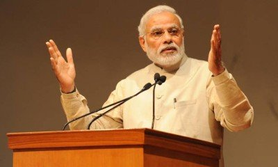 Our country has never attacked any territory: PM Modi