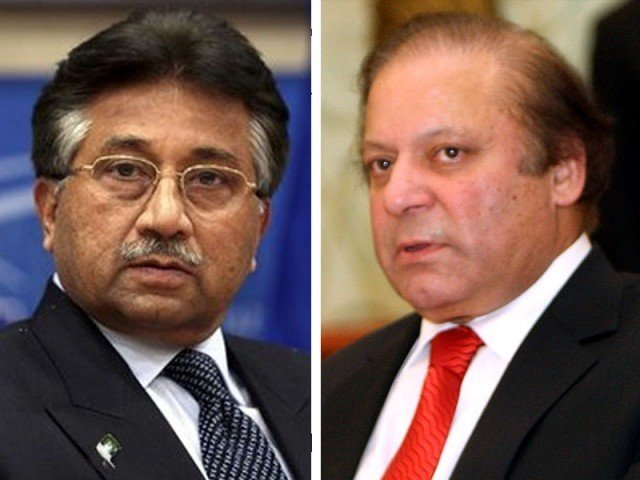 General Pervez Musharraf & Nawaz Sharif