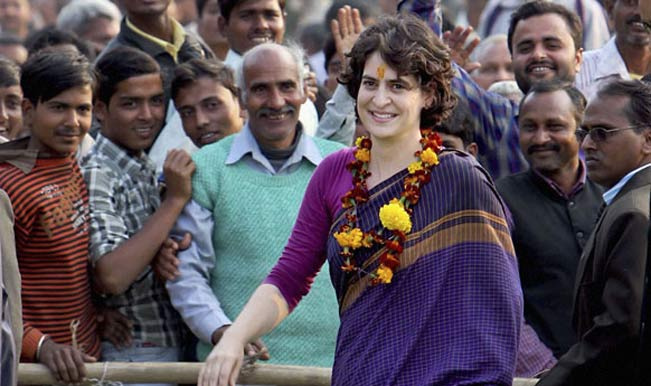 Priyanka Gandhi's soft-launch by Congress Party