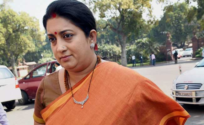 Patiala house to pronounce an order today in Smriti Irani's degree case