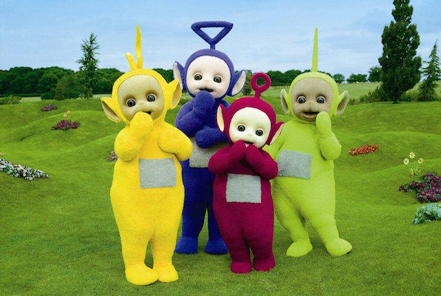 Teletubbies bhangra dance, get ready to do it in next party