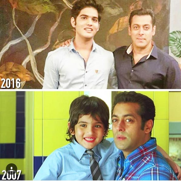 Salman Khan meets his reel son