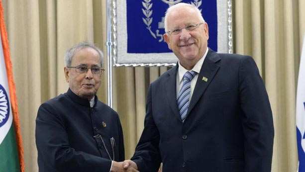 Reuven Rivlin Israel's President on a Six-Day visit to India