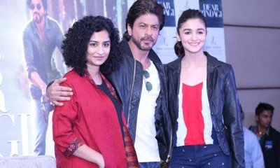 SRK and Alia Bhatt in Delhi for the promotions of Dear Zindagi