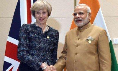 India -Pakistan should hold bilateral talks: British PM Theresa May