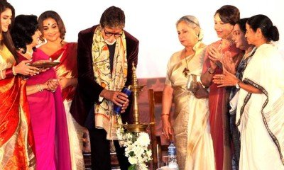 Amitabh Bachchan along with other Bollywood actress at KFF 2016