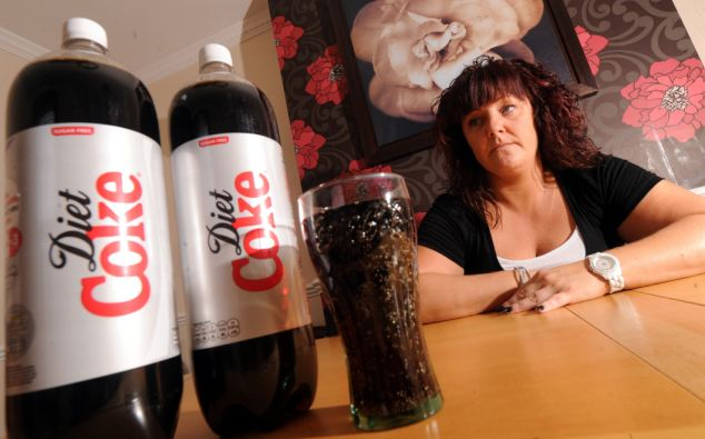 Sweetener in diet soda causes obesity