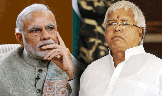 Lalu Prasad Yadav made a comparison between PM Modi & Uncle Podger