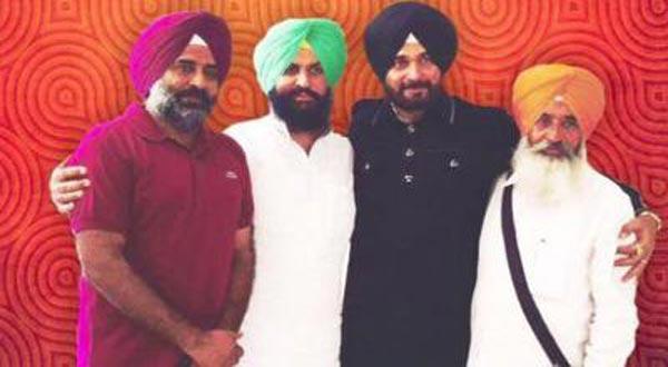 Founding members of Awaaz-e-Punjab