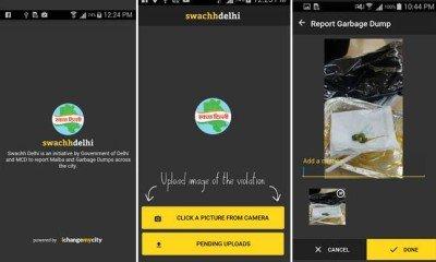 Swachh Delhi app
