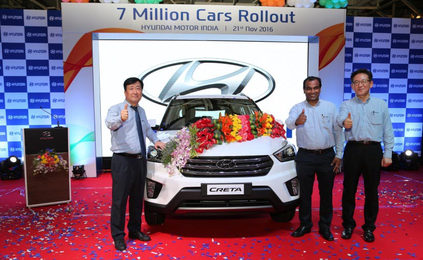 Hyundai achieved 70 Lakh production milestone