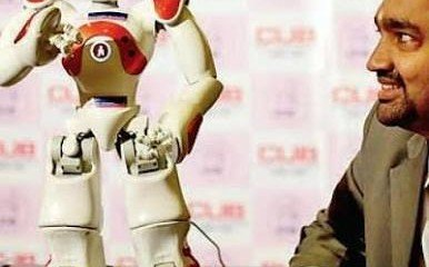 Robot Laxmi is here to give you handy solutions!