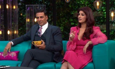 Akshay Kumar & Twinkle Khanna on Koffee With Karan