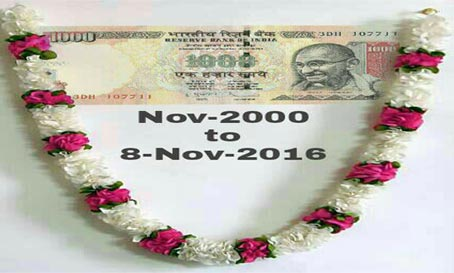 Notes of 500 and 1000 are ban: Black Money menace will be uprooted now