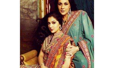 Amrita Singh with daughter Sara Ali Khan