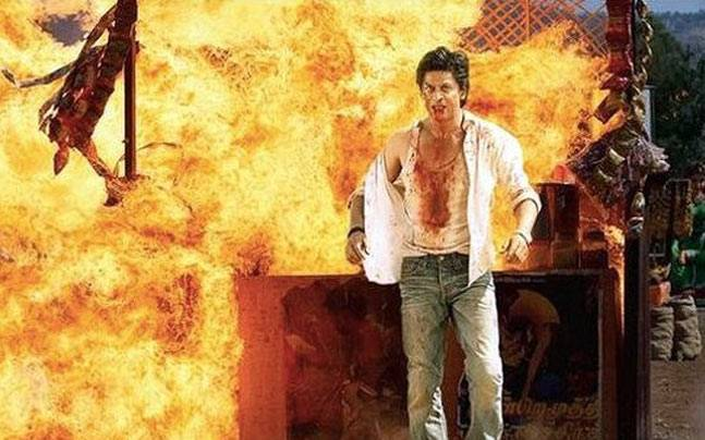 Shahrukh Khan fans nearly burn down theatres