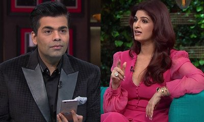 Watch: When Karan Johar was left baffled upon Twinkle's question