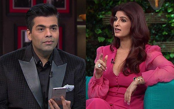 Watch:  When Karan Johar was left baffled upon Twinkle's question
