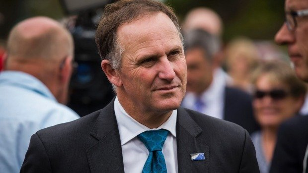 New Zealand PM John Key call it quits