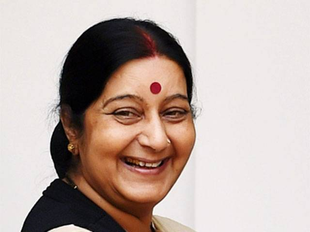 Sushma Swaraj, India's External Affairs Minister
