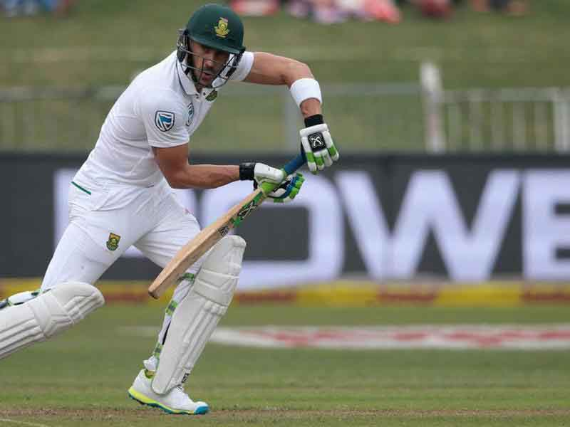 Faf du plessis becomes new test captain