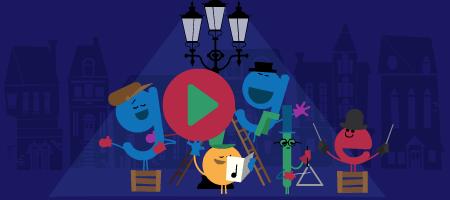 Time to Enjoy: Google changed its doodle to celebrate festive holidays!